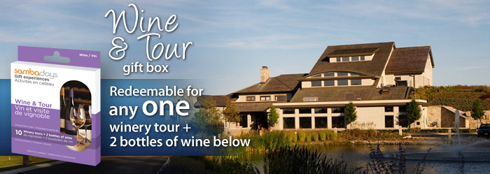 Wine and Tour Gift Experiences