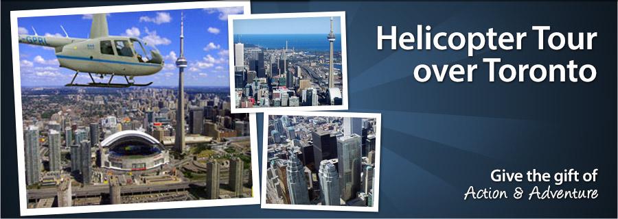 Helicopter Tour Over Toronto  Toronto  299  Samba Days